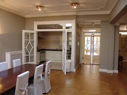 dining room delightful dining room design with grey wall color
