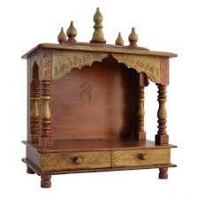 buy home temple mandap wooden temple pooja temple with led