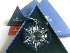 2002 swarovski snowflake ornament ebay