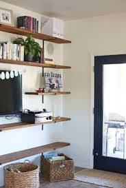 Livingroom Shelves by House Project Family Room Shelves Everyday Reading