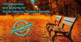 homelessness and applying for social security disability