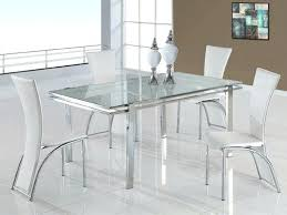 glass dining room sets modern glass dining table brideandtribe co