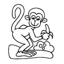 printable monkey coloring pages 361 best monkeys images on pinterest babies nursery jungle