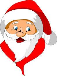funny santa claus as a christmas icon or symbol stock vector