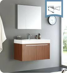 Teak Bathroom Storage Teak Bathroom Cabinet Vessel Sink Vanity Wooden Shelves