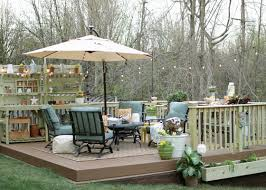 Backyard Oasis Storage And Entertaining Station Design A Backyard Haven On Any Budget Garden Club