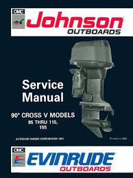 1992 johnson evinrude en 90 cv service manual pn 508145 pdf