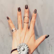 25 brown nail art designs ideas design trends premium psd