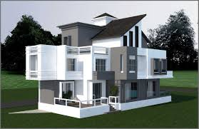exterior design global project view residential building non