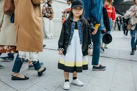 inside world children u0027s street style at seoul fashion week