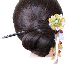 kawaii kimono accessories ornamental hair pin flower