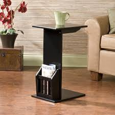 sofas center wildon home nightingale end table rustic living sofas center wildon home nightingale end table rustic living room tables black wooden height table with magazine rack and display storage living