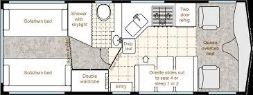 Small Rv Floor Plans Skylark As Delivered