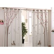 Curtains With Trees On Them Living Room Curtain Ideas Curtain Ideas For Living Room