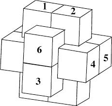 free puzzle piece template simple 6 piece burr