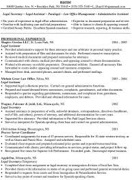 Spanish Resume Samples by Personal Injury Legal Assistant Resume Sample