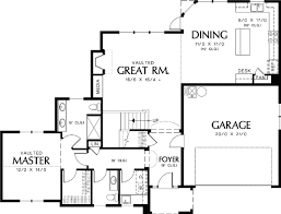 house plans with vaulted great room rural home plan with vaulted great room 69126am