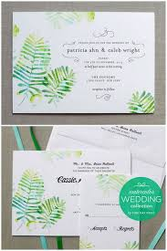 green wedding invitations 22 amazing greenery botanical wedding invitations