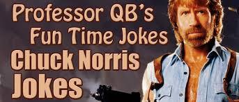 photos and professor qb chuck norris jokes featured in professor qb s time jokes