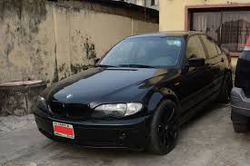 bmw 3 series rims for sale 2002 bmw 3 series 325xi for sale n600 000 black on black 18