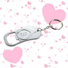 keychain wedding favors personalized bottle opener keychain wedding favors free shipping