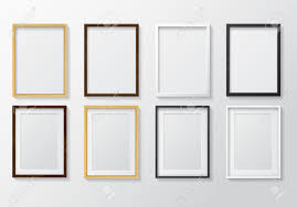 light wood picture frames set of realistic light wood blank picture frames and dark wood blank