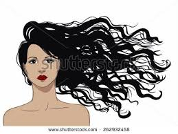 flowing hair stock images royalty free images u0026 vectors
