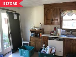 kitchen makeovers with cabinets 20 best kitchen makeovers before after photos of kitchen