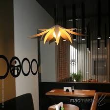 Lotus Pendant Light Lotus Pendant Light Small Macmaster Design Collection