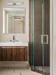 Two Tone Bathroom Grey And Beige Tones Bathroom Design Ideas Pictures Remodel