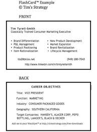 resume business cards great exles create the best networking business card