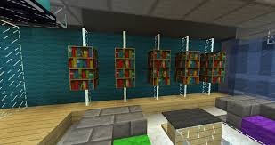 minecraft furniture storage