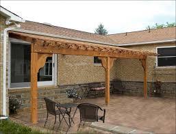 Free Patio Cover Blueprints Outdoor Awesome Galvanized Patio Cover Porch Lean To Roof Patio