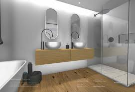 Minosa Sydney City Apartment Modern Bathroom Design With Corian - Bathroom design sydney