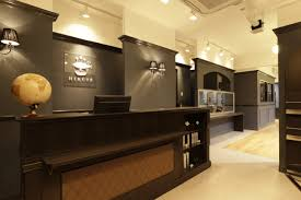 beauty salon interior design ideas reception space decor