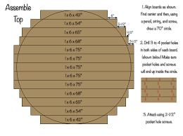 how to make a round table 70 inch round table top rogue engineer