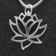 design necklace pendant images Handmade jewelry lotus pendant tom 39 s foolery chainmaille jewelry jpg