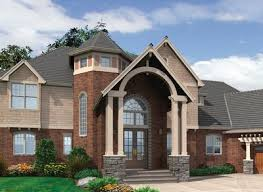 two story turret 69108am architectural designs house plans