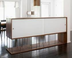 furniture great house design ideas with half wood room divider as