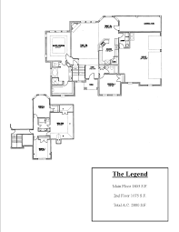 kitchen bedroom house floor plans with garage room plan ranch open