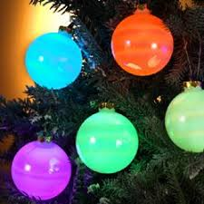 kurt s adler led balls light up ornaments for inside tree