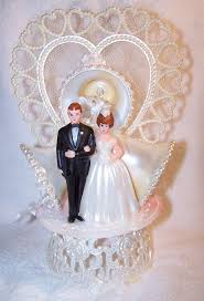 and groom figurines wedding cakes ideas vintage wedding cake topper and groom