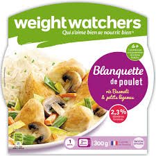 plat cuisiné weight watcher plat cuisiné blanquette poulet riz légumes weight watchers weight