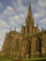 Broadchurch England Map by All Saints Church Rotherham Wikipedia