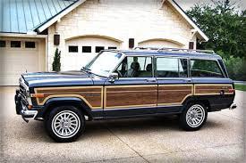 old jeep grand wagoneer 1989 jeep grand wagoneer gear patrol