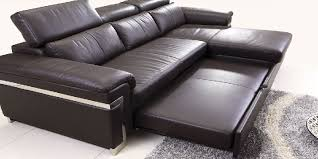 Faux Leather Sectional Sofa Leather Sectional Sleeper Sofa With Chaise Sofamoe Info