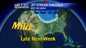Jet Stream Map A Milder Weekend Ahead Some Jet Stream Shifting In The Coming