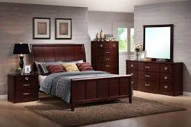 shiny brown furniture set queen bedroom sets beauty dark wood