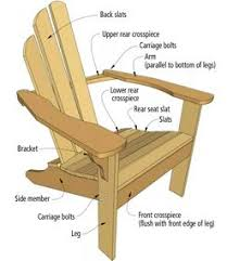 Wood Folding Chair Plans Free by 20 Best Adirondack Chair Plans Images On Pinterest Woodwork