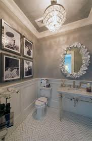 Wallpaper For Bathrooms Ideas Colors Final Powder Room That Used To Be A Closet List Of Materials